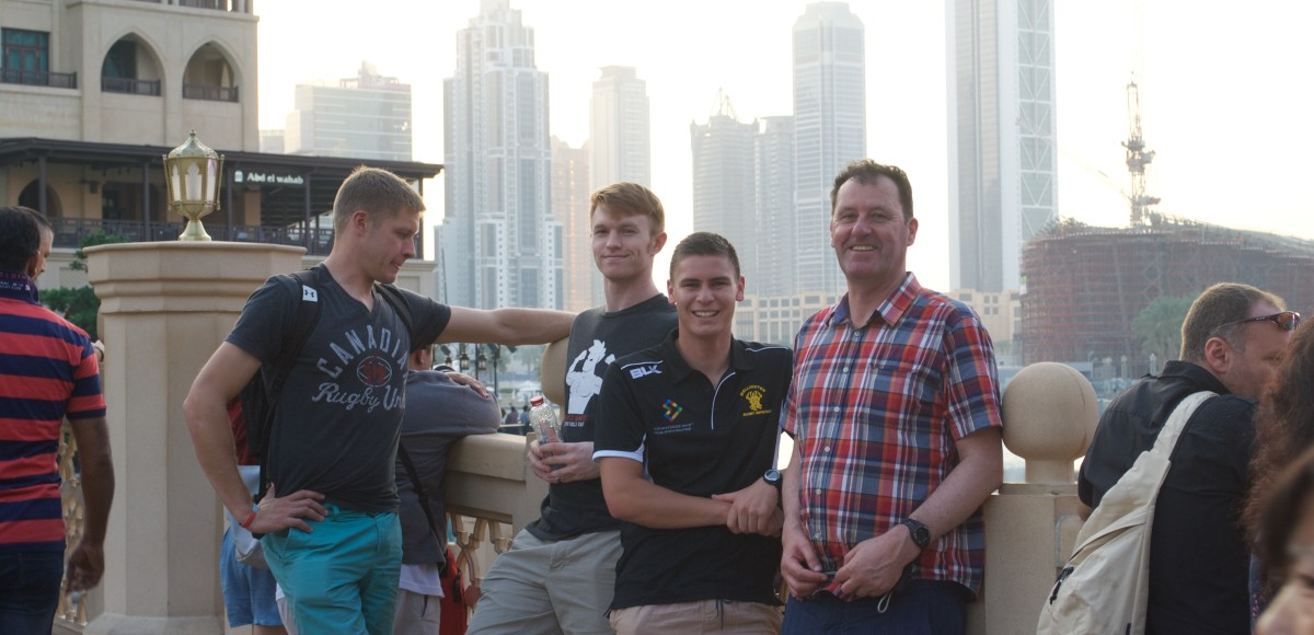 Referees on tour in Dubai – Update 2