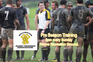 Pre Season Training @ Petone Recreation Ground